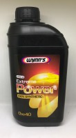 77974 WYNNS 0W40 EXTREME POWER 1L Синтетическое универсальное моторное масло с вязкостью 0W40