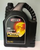 77976 WYNNS 0W40 EXTREME POWER 4L Синтетическое универсальное моторное масло с вязкостью 0W40