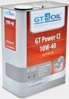 Моторное масло GTOIL. GT Power CI, SAE 10W-40, API CI-4/SL/GF-3, 4 л.