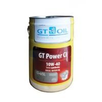 Моторное масло GTOIL. GT Power CI, SAE 10W-40, API CI-4/SL/GF-3, 60 л.